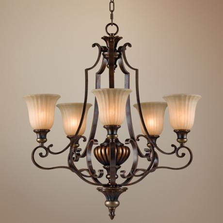 "Kelham Hall Collection 27"" Wide 5-Light Chandelier"