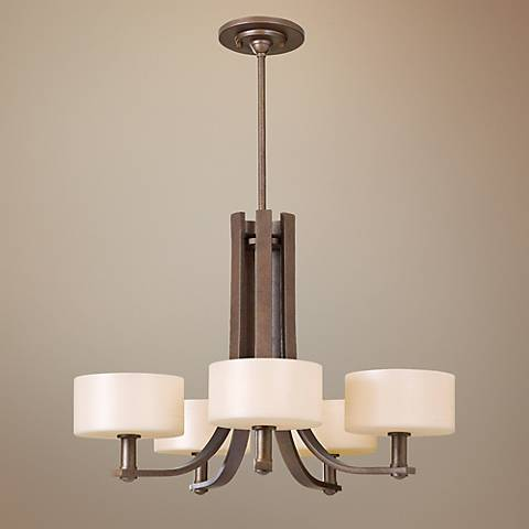 "Feiss Sunset Drive Collection 26 3/4"" Wide Chandelier"