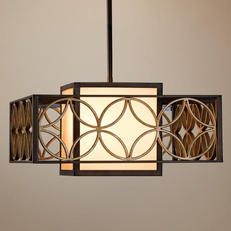"Murray Feiss Remy Collection 21"" Wide Pendant Chandelier"