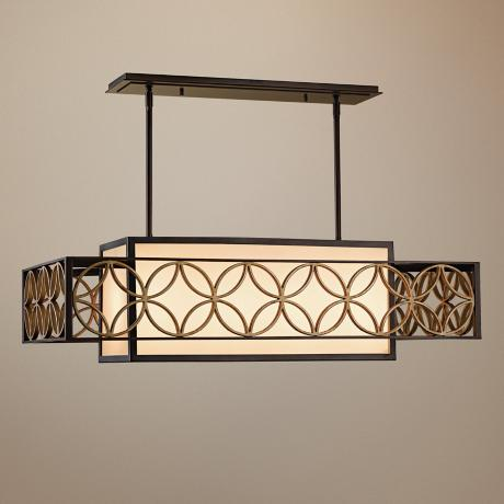 "Murray Feiss Remy Collection 40 1/2"" Wide Pendant Chandelier"