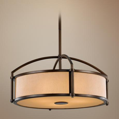 "Murray Feiss Preston Collection 22"" Wide Pendant Light"