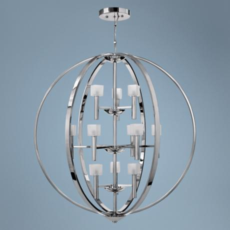 Fredrick Ramond Mondo 12-Light Chandelier