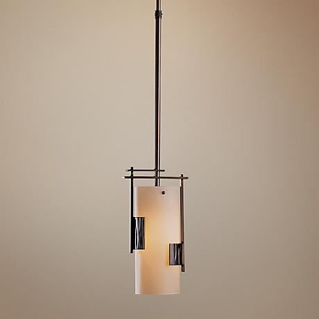 "Hubbardton Forge Contemporary 6"" Wide Pendant Chandelier"
