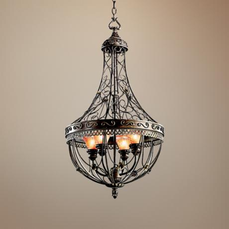 "Marchesa Collection 18"" Wide Foyer Pendant Light"
