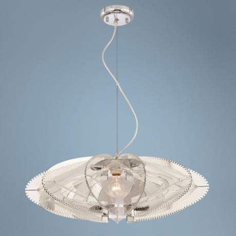 Possini Euro Design Infinity Pendant Chandelier