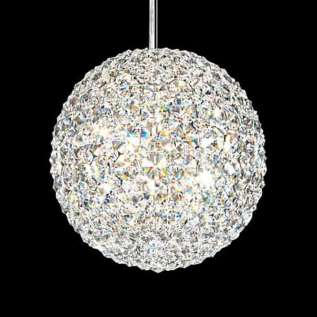 "Schonbek Da Vinci Collection 10"" Wide Crystal Pendant Light"