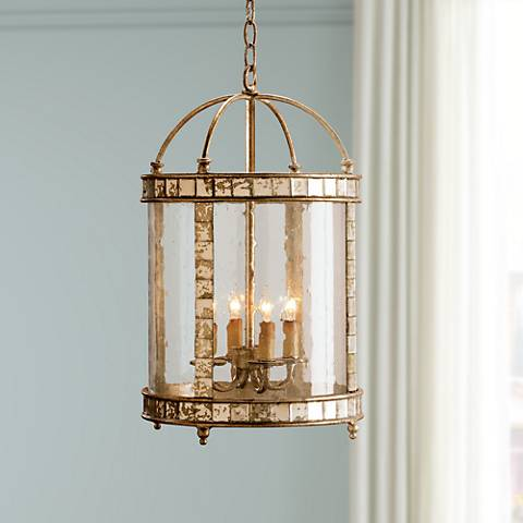 Currey and Company Corsica Lantern Small Pendant Light
