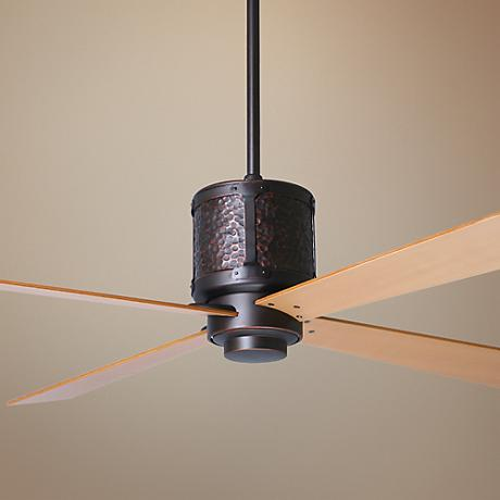 "52"" Period Arts Bodega Rubbed Bronze Ceiling Fan"