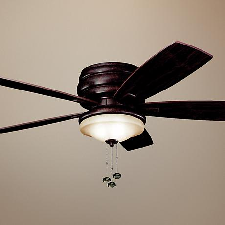 "52"" Windham Tannery Bronze Hugger Ceiling Fan"