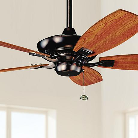 "44"" Kichler Canfield Oil Brushed Finish Ceiling Fan"