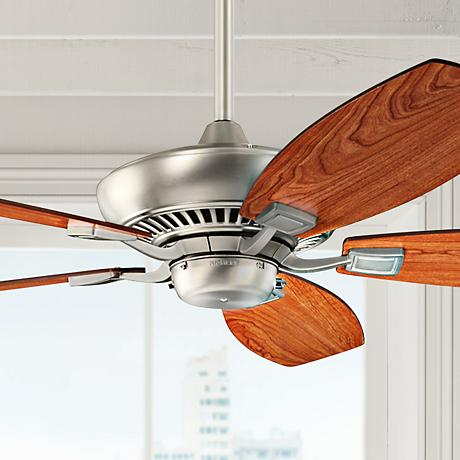 52 Canfield Brushed Nickel ENERGY STAR Ceiling Fan