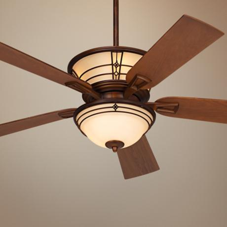 "52"" Fairmont Aged Bronze Ceiling Fan"