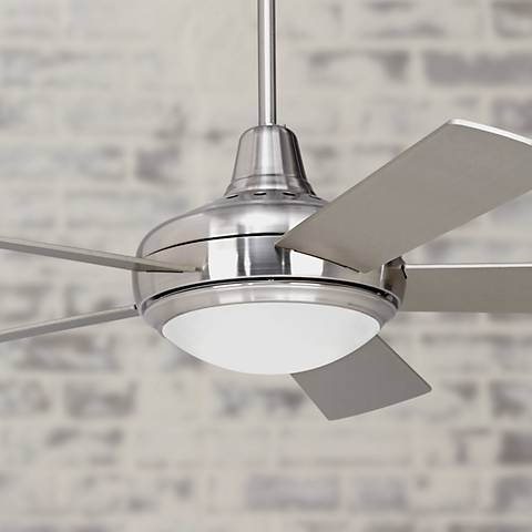 "52"" Casa Compass® Brushed Nickel Ceiling Fan"