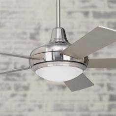"52"" Compass Brushed Nickel Ceiling Fan"