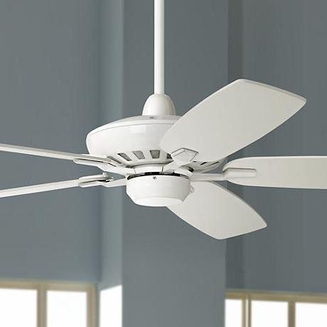 "52"" Journey White Ceiling Fan"