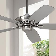 Contemporary Ceiling Fan Without Light Kit Ceiling Fans
