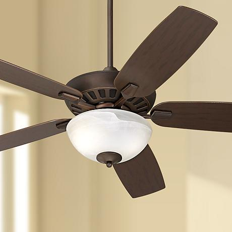 Journey™ Oil-Rubbed Bronze Ceiling Fan with Light Kit