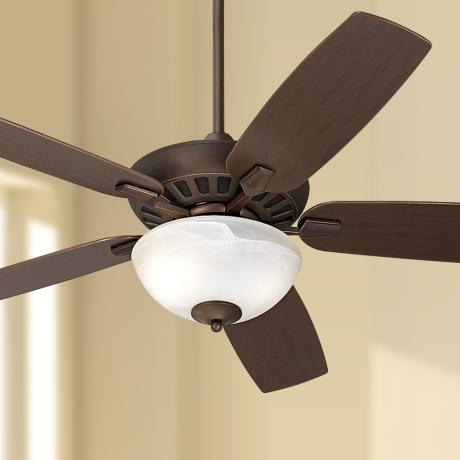 "52"" Journey Oil-Rubbed Bronze Ceiling Fan with Light Kit"