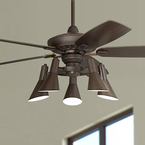 52 Quot Casa Vieja Journey Oil Rubbed Bronze Ceiling Fan