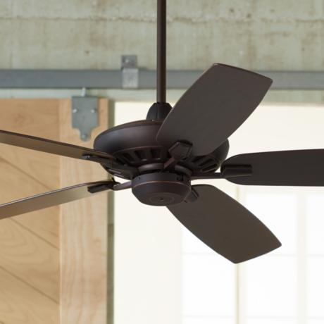 "52"" Journey Oil-Rubbed Bronze Ceiling Fan"