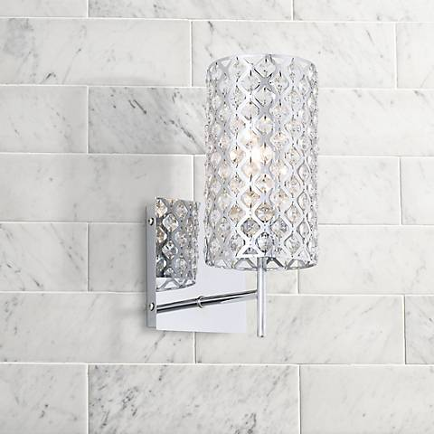"Possini Euro Design Glitz 12 1/2"" High Wall Sconce"