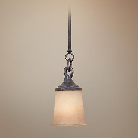 Austin Weathered Saddle Mini Pendant Chandelier