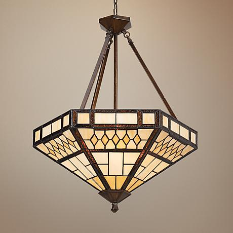 Tiffany Glass Pendant Light