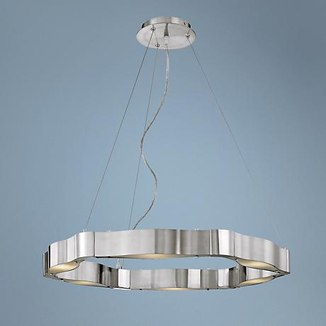 Titanium Collection Cable Chandelier
