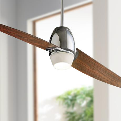 "54"" Muse Chrome Ceiling Fan"