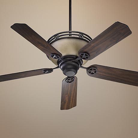 "52"" Quorum Lone Star Toasted Sienna Ceiling Fan"