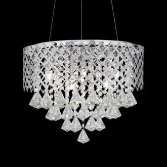 Clear Crystal Pendant Light