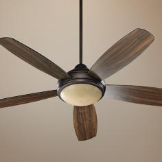 "52"" Quorum Colton Oiled Bronze Ceiling Fan"