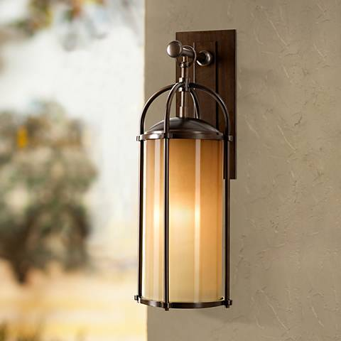 "Feiss Dakota 20 3/4"" High Outdoor Wall Light"