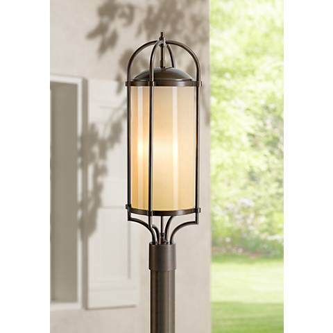 "Feiss Dakota 28 1/4"" High Outdoor Post Light"