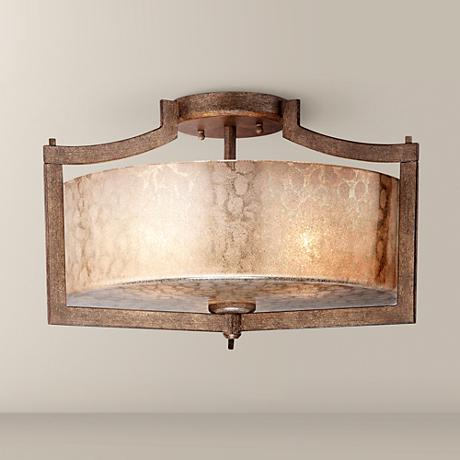 "Minka Clarte Collection 17"" Wide Ceiling Light"