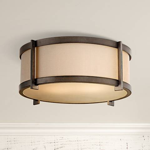 "Feiss Stelle 14"" Wide Ceiling Light Fixture"