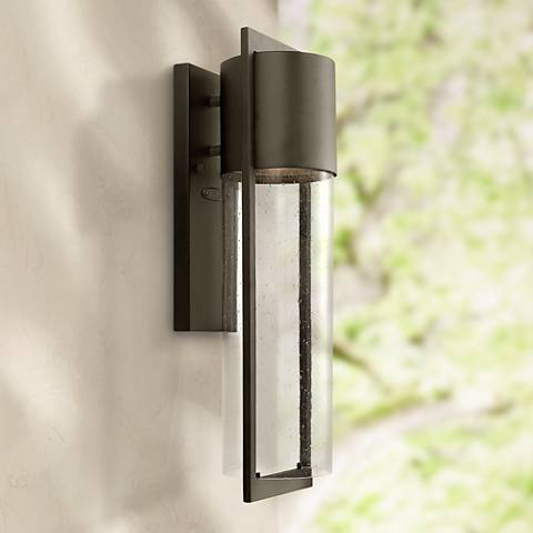 "Hinkley Shelter 20 1/2"" High Indoor/Outdoor Wall Light"