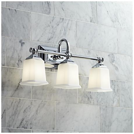 Nicholas Collection Polished Chrome 22 Wide Bathroom Light M8814 Lamps Plus