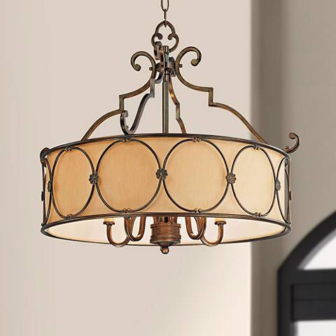 "Minka Atterbury Collection 25 1/4"" Wide Pendant Chandelier"