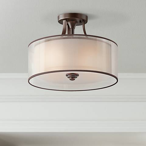 "Kichler Lacey Collection 15"" Wide Ceiling Light Fixture"