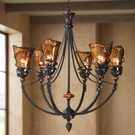 Uttermost Vitalia Collection 6-Light Chandelier