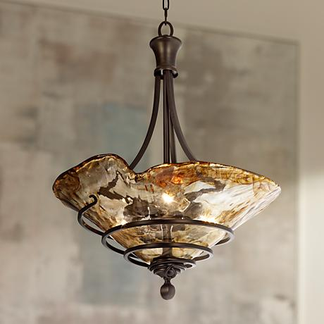 Uttermost Vitalia Collection 3-Light Pendant Chandelier