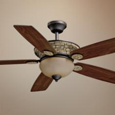"52"" Jasper Oil-Rubbed Bronze Ceiling Fan"