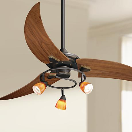 "48"" Picard Oil Rubbed Bronze Ceiling Fan"