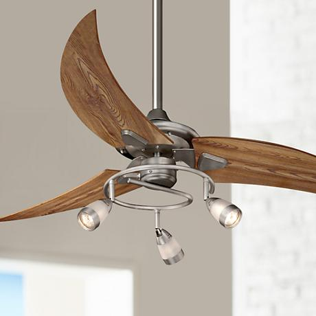 "48"" Picard Brushed Nickel Ceiling Fan"