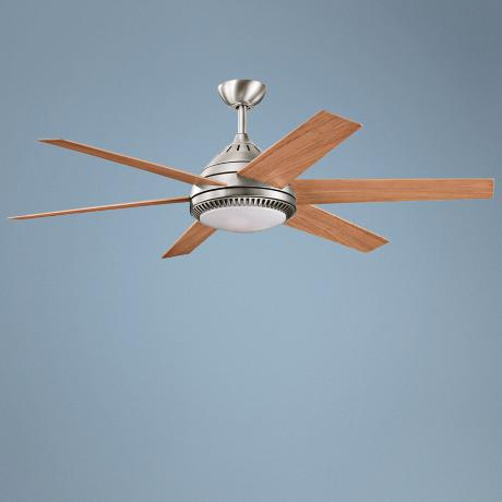 "56"" Kichler Ceres Antique Pewter Finish Ceiling Fan"