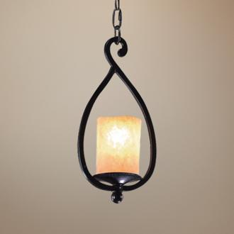 Wrought Iron Mini Pendant