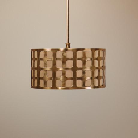 Uttermost Manhattan 3-Light Pendant Chandelier