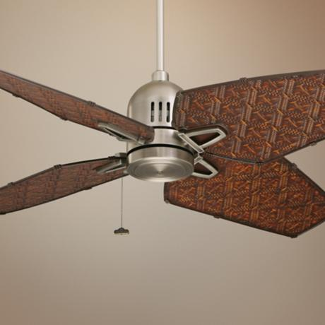 "52"" Emerson Tommy Bahama Camden  Antique Pewter Ceiling Fan"