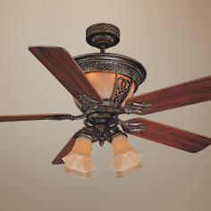 "52"" Savoy House Artesno Tortoise Shell Ceiling Fan"